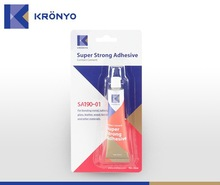 KRONYO strongest glue for plastic strong super glue strong wood glue