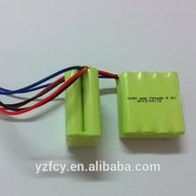 1.5V Ni-Mh cell 2.4V NI-MH battery pack