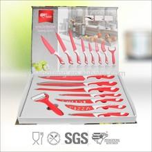 Color Non-stick Coating Chef Knife, Bread Knife, Fruit Knife