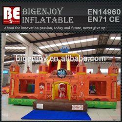 Giant kids inflatable indoor playground