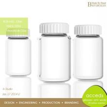 Novelty Customized Heatproof Eco Pyrex Glass BPA-Free High End Medical Bottle