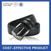 leather men's belts pin buckle