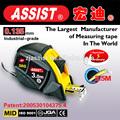 Famoso producto bien- conocido herramientas de medición en canada cinta métrica de acero, stanley cinta de medir