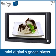 Flintstone 7 inch china wholesale lcd display,advertising product for kiosk,small led display