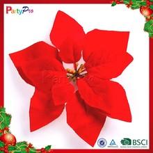 Partypro 2015 Wholesale Christmas Indoor Decorations Colorful Plastic Artificial Flower Basket Decoration