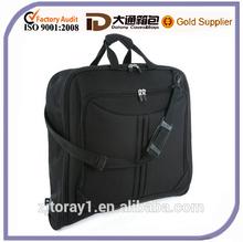 Travel Foldable Garment Bag Hanging Luggage Black
