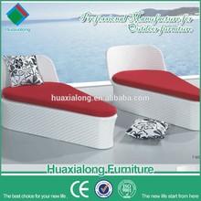 Hot sale design PE rattan aluminium frame deluxe lounge sofa chair