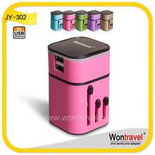 Cellphone/mobile phone adapter plug,universal mobile phone adapter plug,portable mobile adapter plug