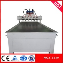 4 axis multi head cnc wood router (for wood, acrylic, PVC, MDF, plastic, glass, double-board, Aluminum, Copper and so on)