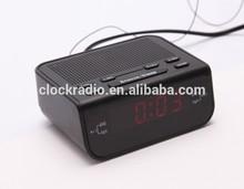 Digital Home/Hotel AM/FM Radio Receiver LED Display Radio Alarm Clock Snooze