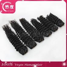 Hair factory wholesale price mink brazilian hair loose deep wave weave hairstyles