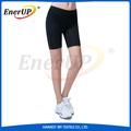 compactação de cobre mulher shorts de corrida