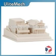 China High Precision Custom House Prototype SLA SLS 3D Printing Service