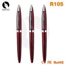 Jiangxin brush tip ballpoint pen with cap for Japan market
