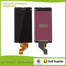 Mobile Phone Repair Parts for sony z1 mini lcd, Wholesale for Xperia Z1 mini Display Screen
