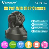 Low price ONVIF H.264 P2P IR CUT WIFI Phone remote control best digital camera webcam