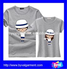 2015 summer hot sale t shirts women/men wholesale short sleeve tshirt china manufacture casual t-shirt