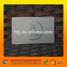 Alibaba wholesale price blank standard credit card metal card black oxide