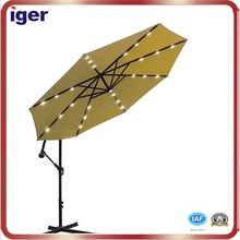 outdoor furniture umbrella with led light