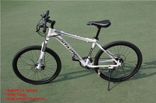 Htaimei 21 speed magnesium mountain bike 26 inch white color