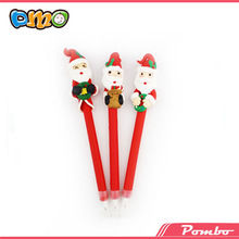 Latest Hot Selling!! gift ball pen 3d drawing pen Santa Claus low price pen gun
