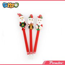 Latest Hot Selling!! gift ball pen 3d drawing pen Santa Claus low price pen gun