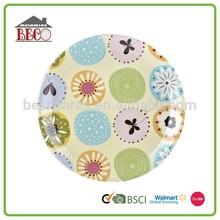 Promotional nice plastic seafood plates