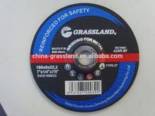 """7"""" x 1/4"""" Angle Grinder Abrasive Grinding Sanding Disc Disk Wheel"""