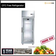 Digital Temperature Controller High Energy Efficiency No Frost Steel Fridge