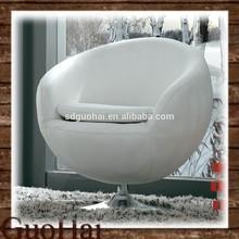 Leather single sofa chair lounge chair J-008