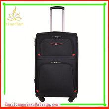 H1182 Hot sale trolley luggage, polka dot nylon luggage