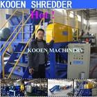 KOOEN automatic plastic recycling shredders