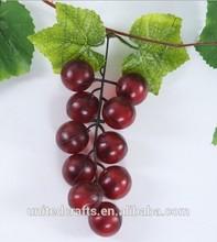 Personalizzato alla moda frutti artificiali, di plastica grappolo