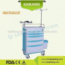 SKR-ET131 ABS surgical instrument nursing trolley