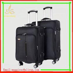 H188 Hot sale trolley luggage, children cartoon nylon luggage