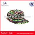Patrón de la impresión digital lindo patrón snapback de ala plana gorras / sombrero