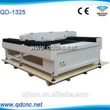 1325 co2 laser cutting machine / 1300mm*2500mm laser cutter / 4*8 feet laser cutter bed QD-1325