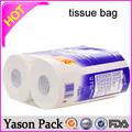 Yason saco de papel com janela transparente do fone de ouvido caixa de papel de pão personalizados sacos de papel/saco de papel para pipoca de frango