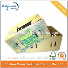 5 layers High quality corrugated banana carton box