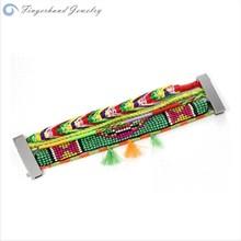 Brazil Vintage Friendship Handmade Magnetic Colorful Rudder Famous Brand Bracelet
