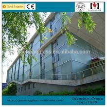 U Channel Glass /U Glass Wall System Installation 1371