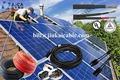 Negro rojo de cobre/pvc/alambre de goma/estañado conductor solar/coche cable de la batería