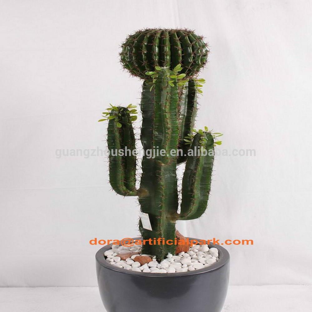Sjh012118 pas cher plantes artificielles grand cactus 110 cm plantes d 39 in - Plante artificielle pas cher ...