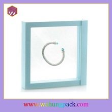 cheap price customized small clear plastic transparent jewelry gift packaging boxes for bangle