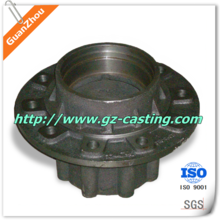 tricycle front wheel hubs truck rear wheel hub OEM and custom work from China casting foundry for auto, pump, valve,railway