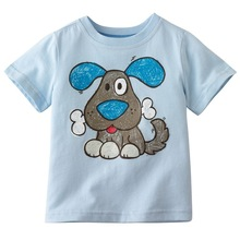 Baby product 100 cotton custom ptinted baby t shirt made in china