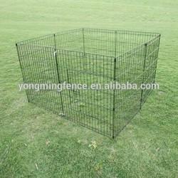 Galvanized steel dog kennels