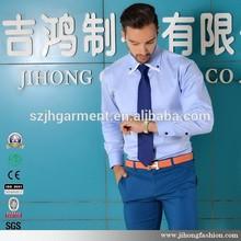 Long Sleeve Double Collar Fancy Shirts For Men