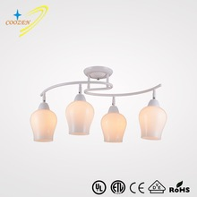 GZ80043-4C light fittings dining room pendant lighting CE UL remote control indoor ceiling lights
