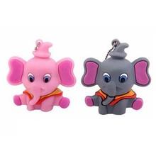 Gift cartoon elephant usb flash drive pendrive usb flash memory